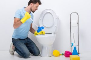AGN Imobiliária - Desentupimento de vaso sanitário